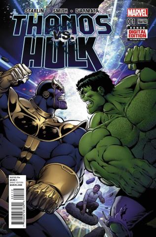 Thanos vs. Hulk #1 (2nd Printing)