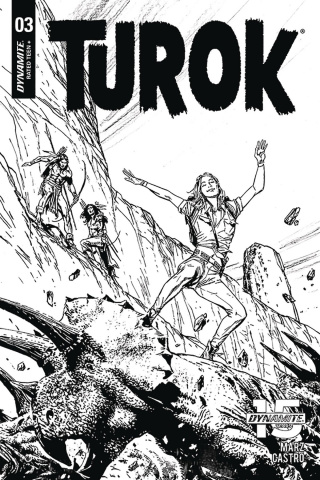 Turok #3 (20 Copy Guice B&W Cover)