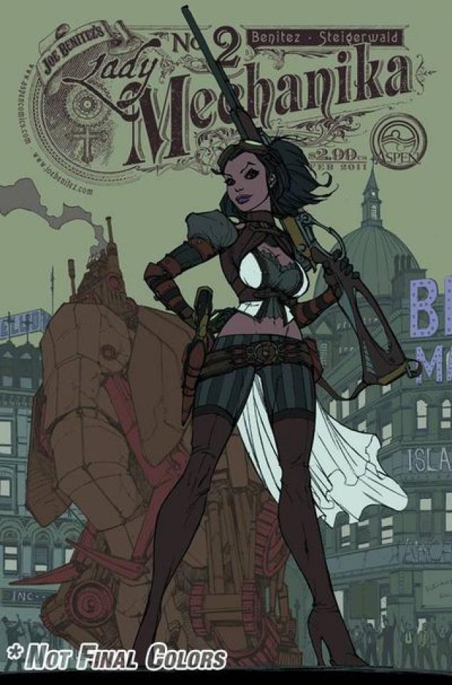 Lady Mechanika #2 (Garza Cover)