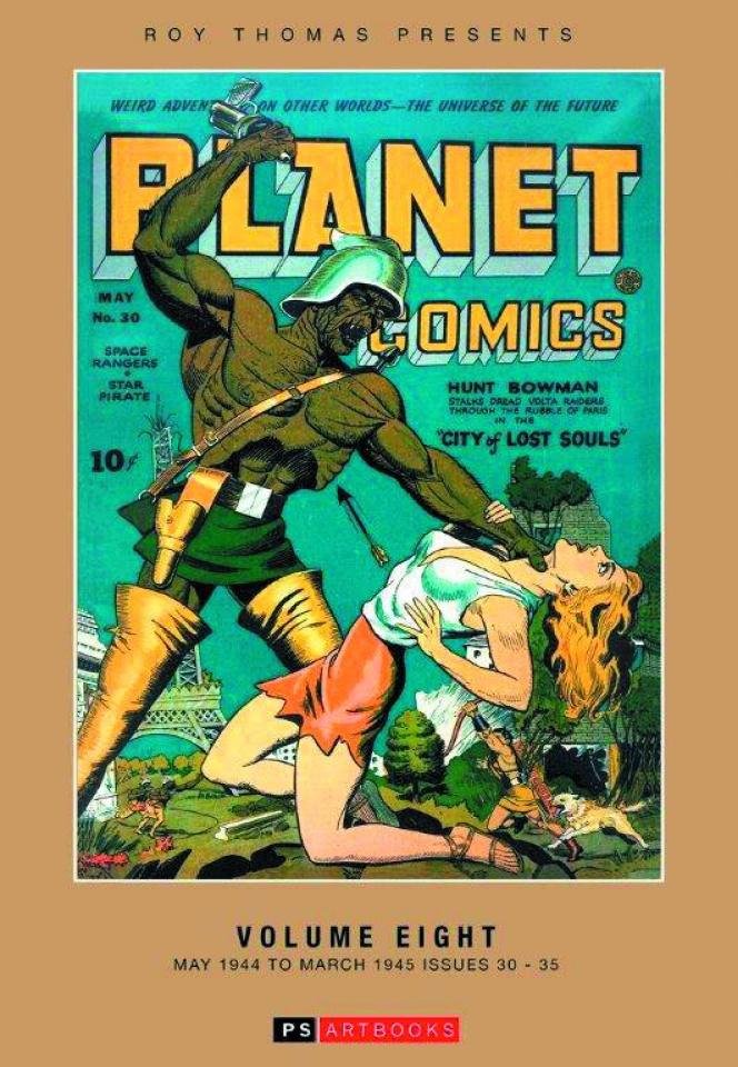 Planet Comics Vol. :8 May '44 - Mar '45
