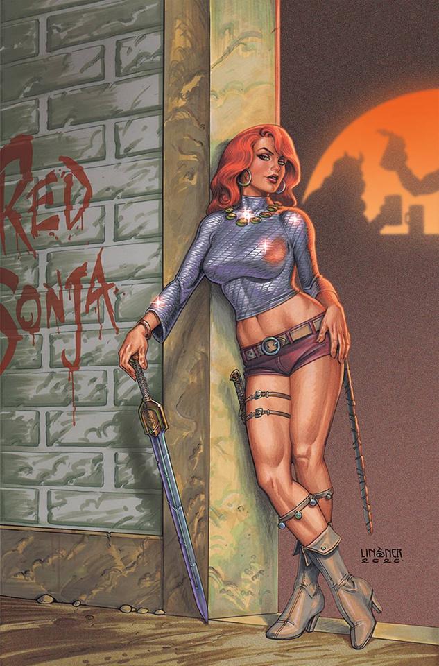 Red Sonja #25 (Linsner Virgin Cover)
