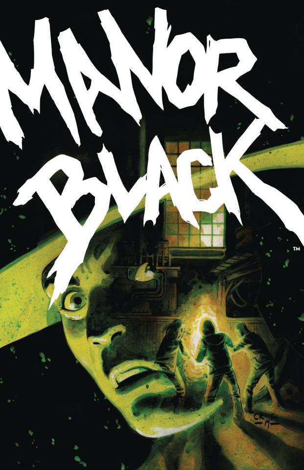Manor Black #3 (Crook Cover)