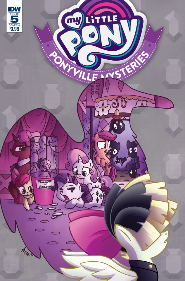 My Little Pony: Ponyville Mysteries #5 (Garbowska Cover)