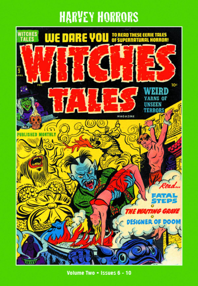Harvey Horrors: Witches Tales Vol. 2