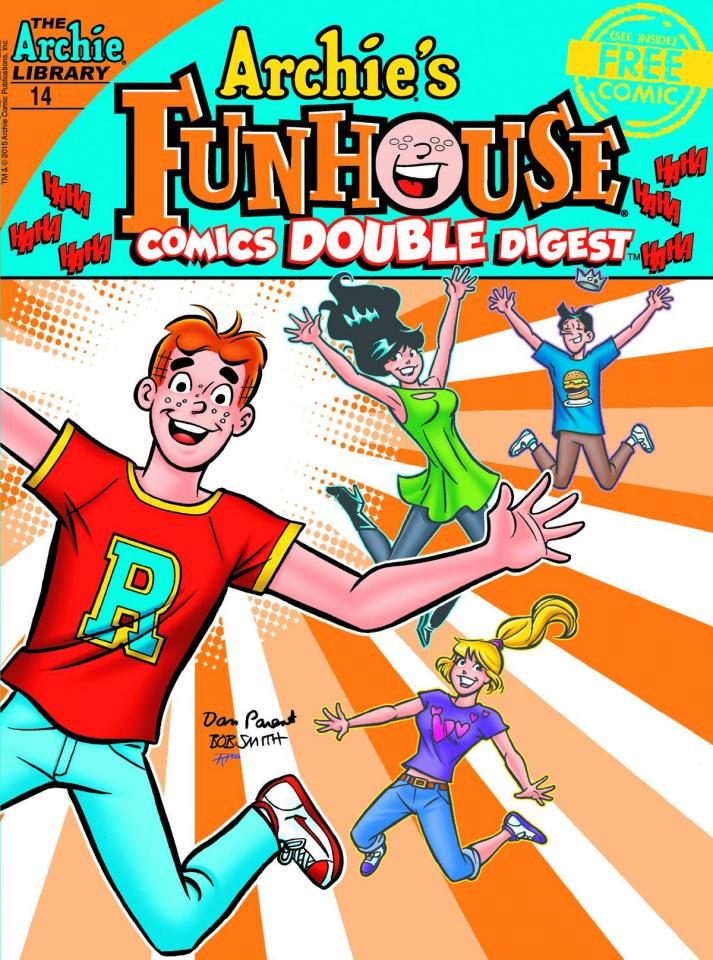 Archie's Funhouse Comics Double Digest #14