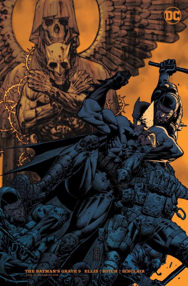 The Batman's Grave #9 (Stephen Platt Card Stock Cover)