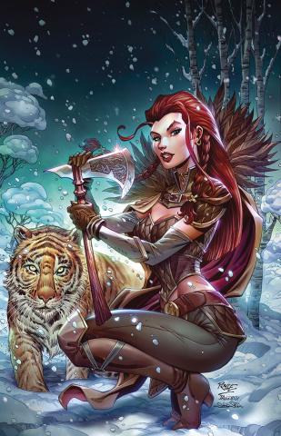 Dragonsblood #3 (Royle Cover)