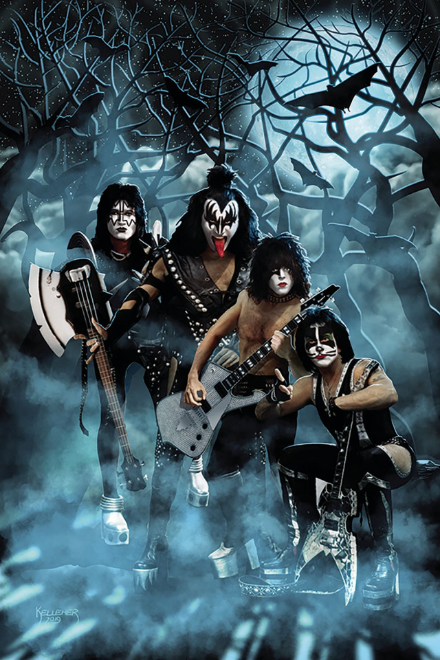 KISS: Zombies #2 (10 Copy Photo Virgin Cover)