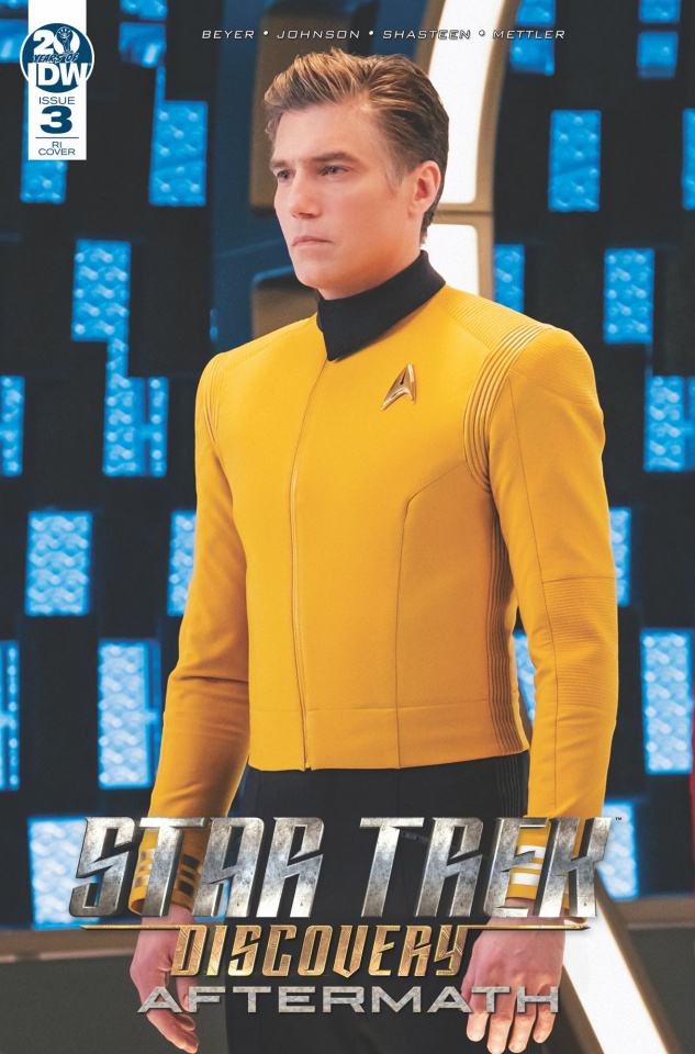 Star Trek Discovery: Aftermath #3 (10 Copy Photo Cover)