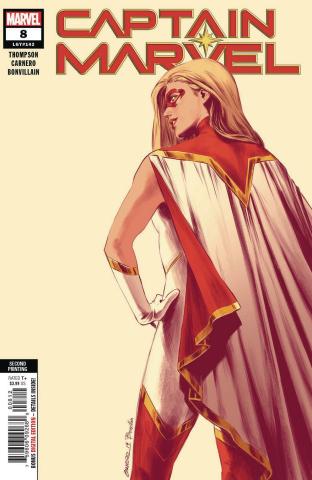 Captain Marvel #8 (Carnero New Art 2nd Printing)