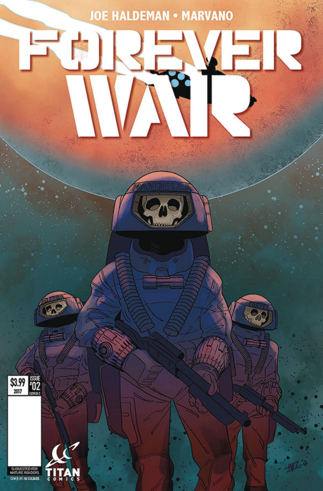 The Forever War #2 (Culbard Cover)
