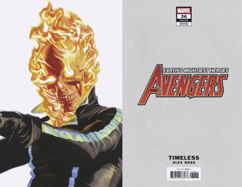 Avengers #36 (Alex Ross Ghost Rider Timeless Cover)