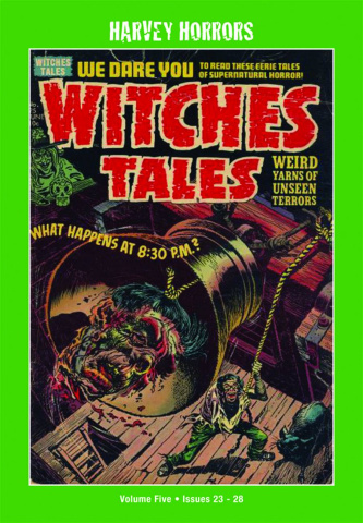 Harvey Horrors: Witches Tales Vol. 5