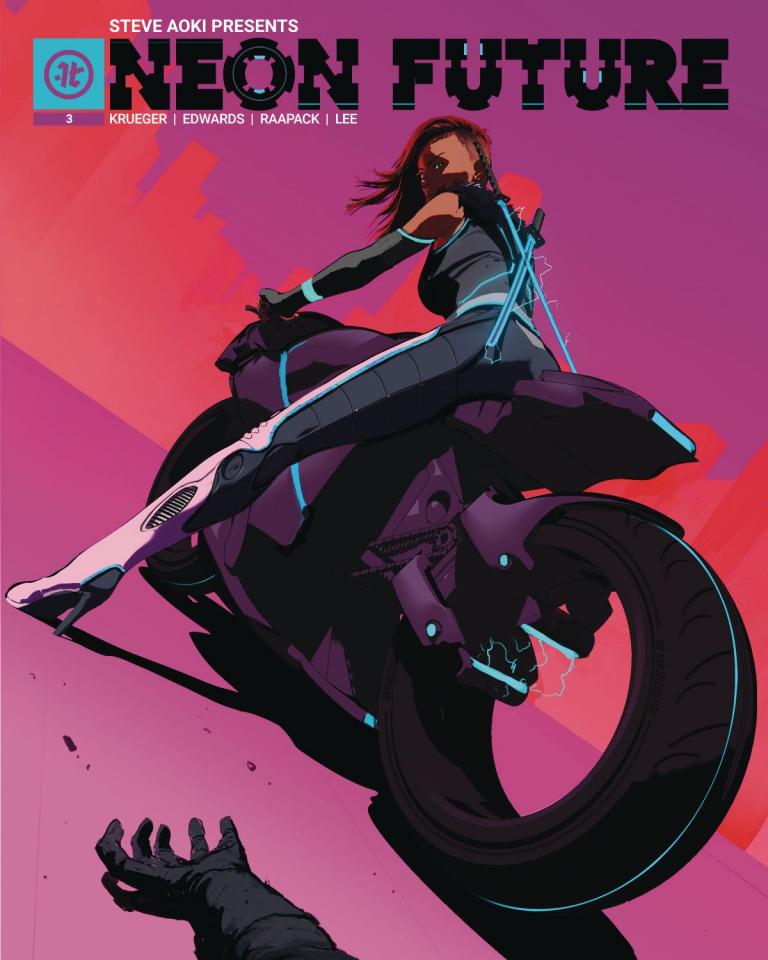 Neon Future #3 (Kuciara Cover)