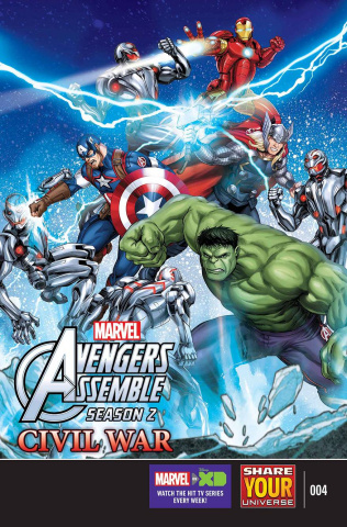 Marvel Universe Avengers Assemble: Civil War #4