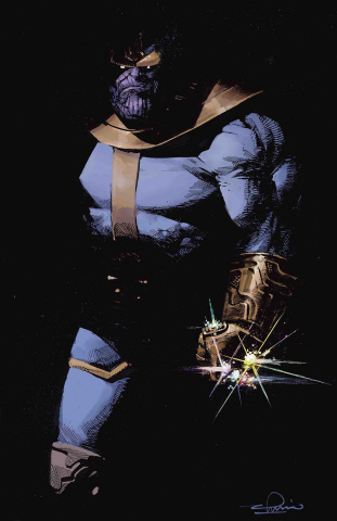 Thanos #1 (Zaffino Cover)