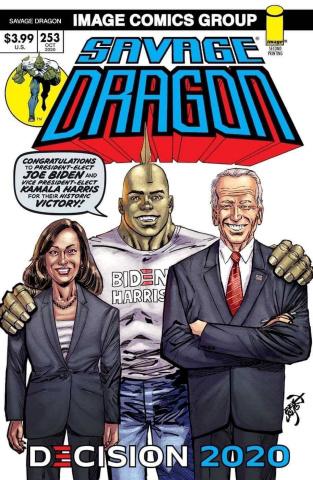 Savage Dragon #253 (Biden / Harris 2nd Printing)