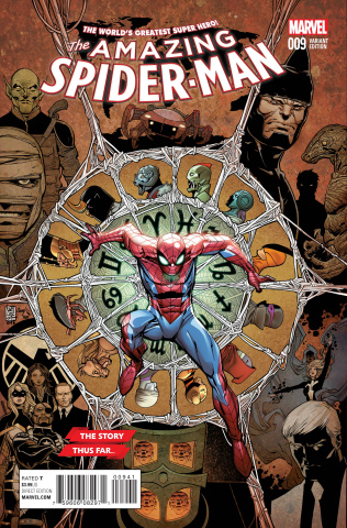The Amazing Spider-Man #9 (Camuncoli Story Thus Far Cover)
