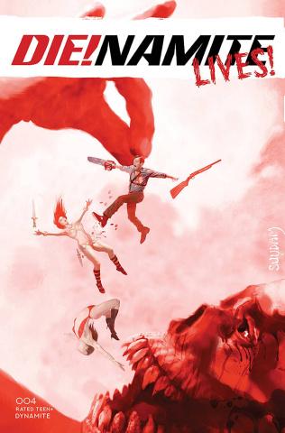 DIE!namite Lives! #4 (Suydam Cover)