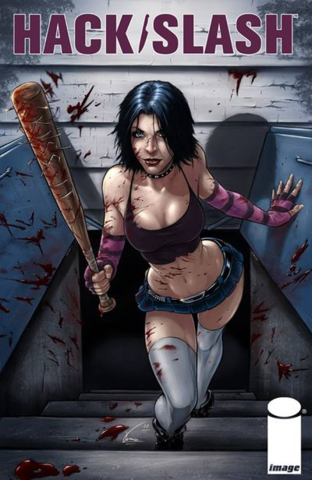Hack/Slash #3 (Tartamella Cover)