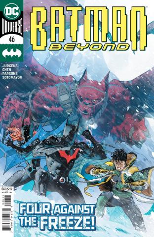 Batman Beyond #46 (Dan Mora Cover)
