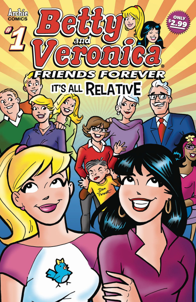 Betty & Veronica Friends Forever: All Relative #1
