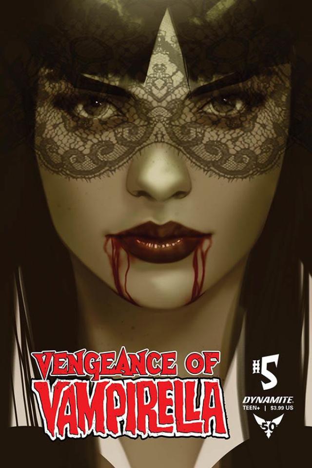 Vengeance of Vampirella #5 (40 Copy Oliver Tint Cover)