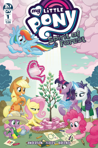 My Little Pony: Spirit of the Forest #1 (Fleecs Cover)