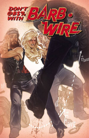 Barb Wire #1 (Hughes Cover)