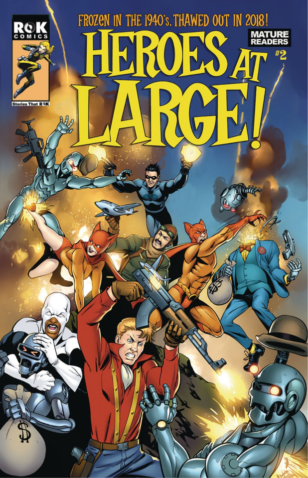 Heroes at Large! #2