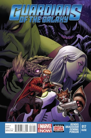 Guardians of the Galaxy #17 (2nd Printing)