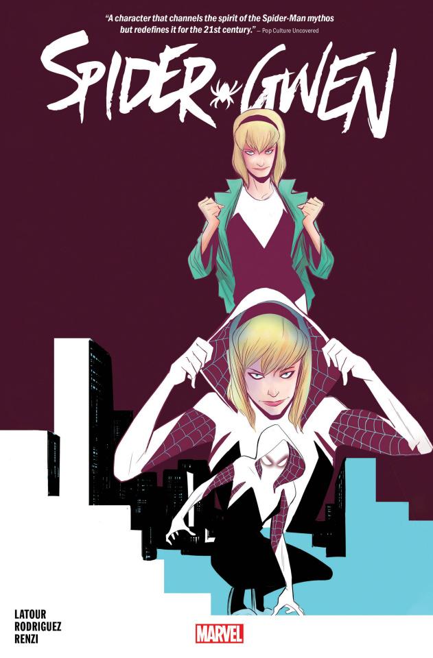 Spider-Gwen (Omnibus Rodriguez Cover)