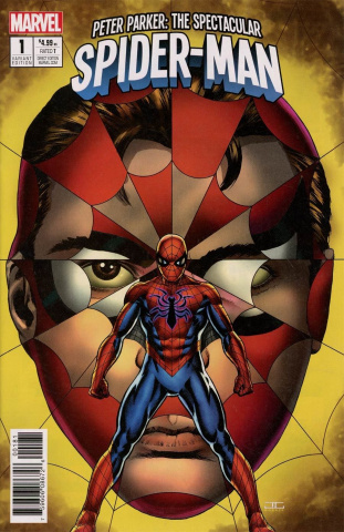 Peter Parker: The Spectacular Spider-Man #1 (Cassaday Cover)