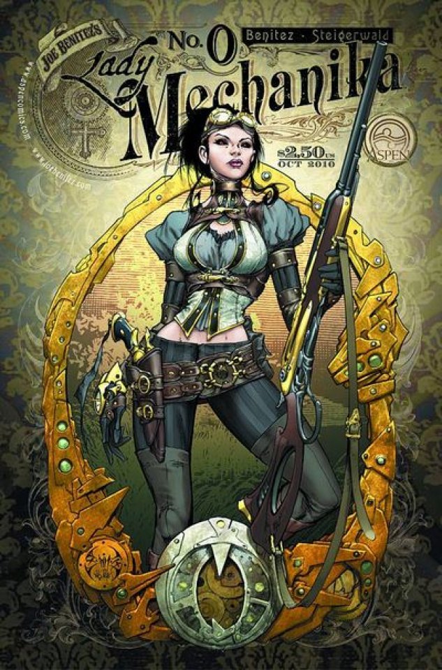 Lady Mechanika #2 (Benitez Cover)