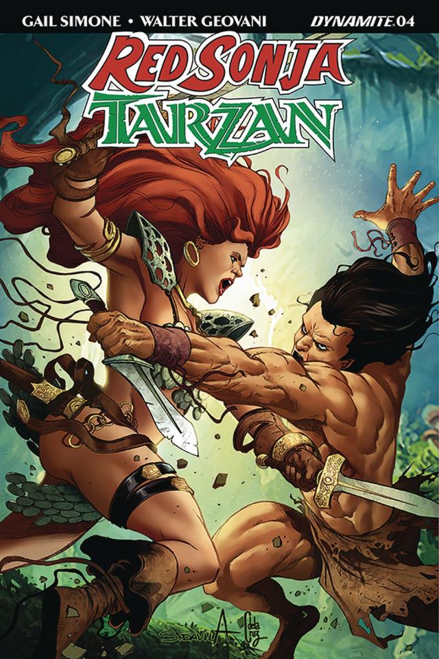 Red Sonja / Tarzan #5 (Davila Cover)