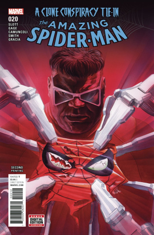 The Amazing Spider-Man #20 (2nd Printing Alex Ross Cover)