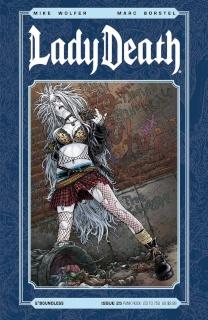 Lady Death #25 (Punk Rock Cover)
