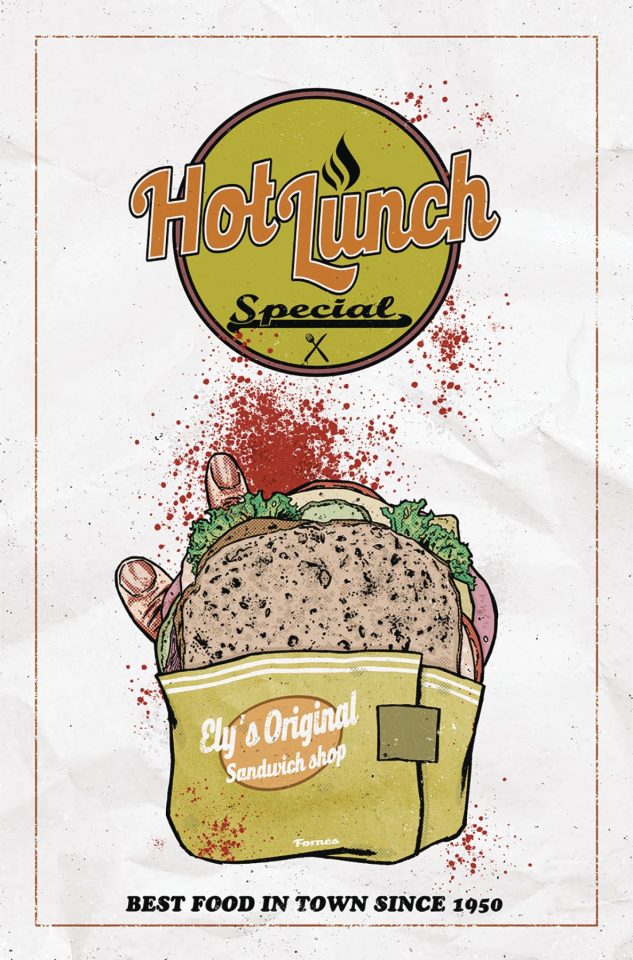 Hot Lunch Special #1 (Fornes Cover)