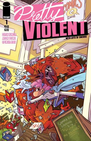 Pretty Violent #1 (2nd Printing)