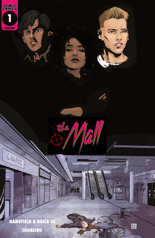 The Mall #1 (10 Copy Cover)