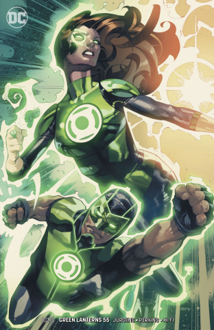 Green Lanterns #55 (Variant Cover)