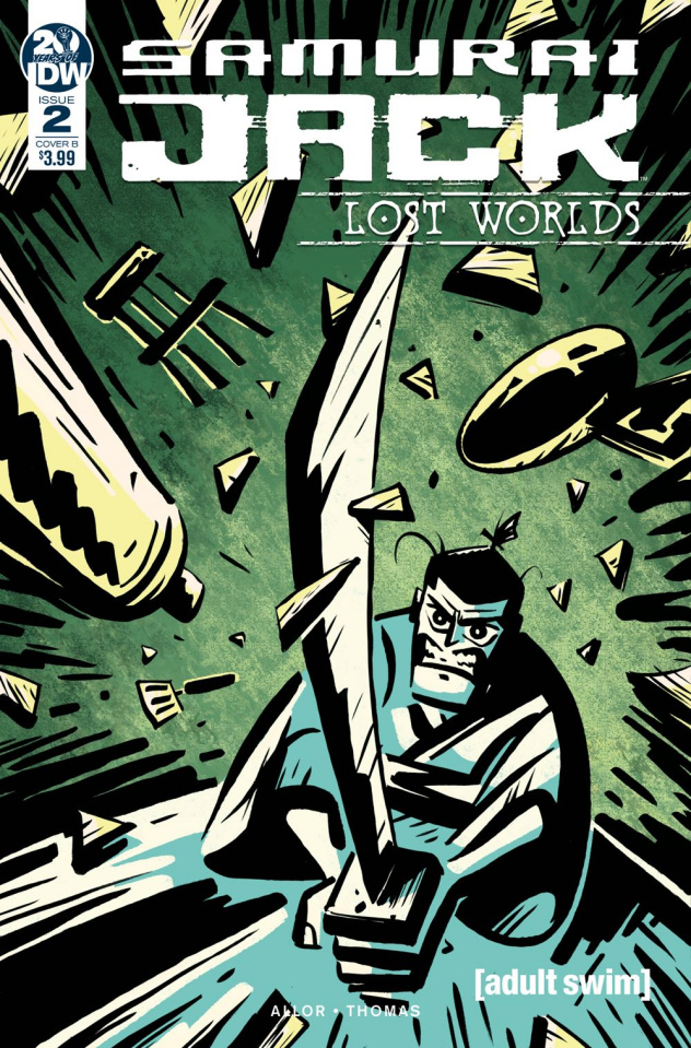 Samurai Jack: Lost Worlds #2 (Fullerton Cover)
