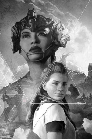 Horizon: Zero Dawn #2 (Artgerm B&W Virgin 25 Copy Cover)