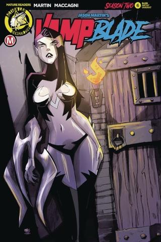 Vampblade, Season Two #6 (Artist Cover)