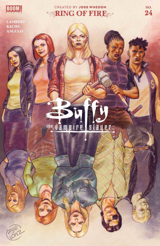 Buffy the Vampire Slayer #24 (Lopez Cover)