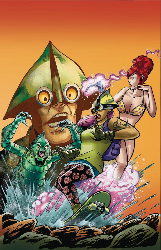 The Pitiful Human-Lizard #10 (Ruiz Cover)