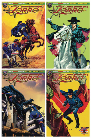 Zorro: Legendary Adventures, Book 2 (Reader Set)