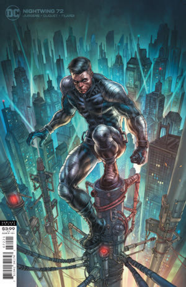 Nightwing #72 (Alan Quah Cover)