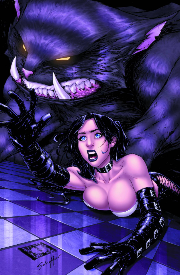 Grimm Fairy Tales: Wonderland #19 (Caldwell Cover)
