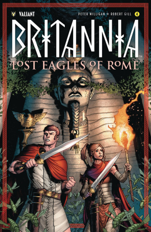 Britannia: Lost Eagles of Rome #4 (Gill Cover)